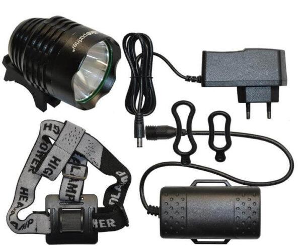 HighPower-Sportslygte-900-Lumen-8-Watt-Cykelforhandler