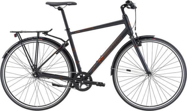 Nishiki-Lite-Herre-Nexus7sp-Matsort-m-orange-cykelforhandler