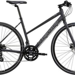 Nishiki-SL-Air-Dame-Altus-16-gear-mat-sort-m-hvid-cykelforhandler
