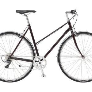 REMINGTON-RUNWELL-SPORT-MIXTE-rød-damecykel-cykelforhandler