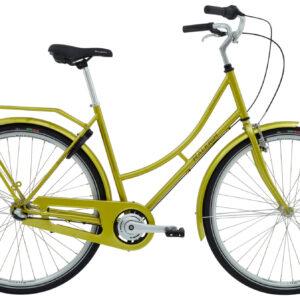 Raleigh-Darlington-dame-blank-guld-7-gear-cykelhandler-og-cykelværksted