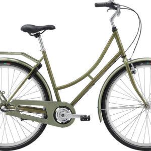 Raleigh-Darlington-grøn-med-guld-dame-cykelforhandler