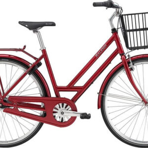 Raleigh-sussex-7-gear-rød-m-sølv-dame-cykelforhandler