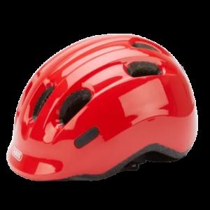 Abus-Smiley-2-0-Cykelhjelm-Rød-cykelforhandler