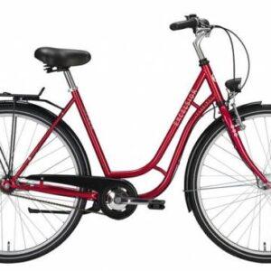Excelsior-Touring-ND-Kvinder-Cykel-28-53cm-Bremsenav-Rød-cykelforhandler